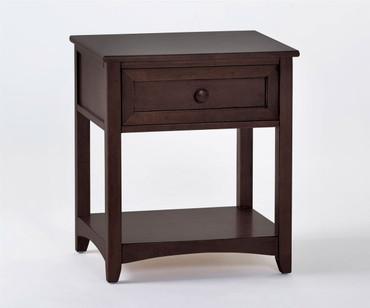 School House Nightstand Chocolate | NE Kids Furniture | NE-5530
