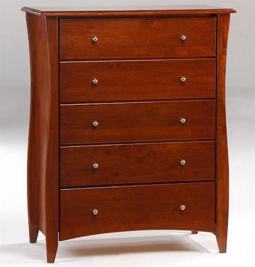 Timber Creek 5 Drawer Chest Cherry | Night & Day Furniture | NE-CLOVE-5D-CR