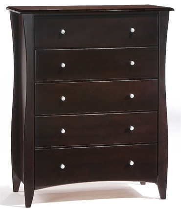 Timber Creek 5 Drawer Chest Chocolate | Night & Day Furniture | NE-CLOVE-5D-CT