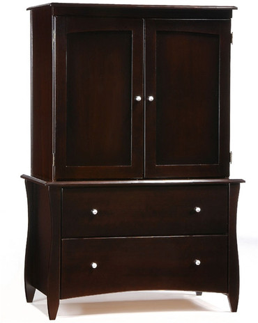 Timber Creek Armoire Chocolate | Night & Day Furniture | NE-CLOVE-AM-CT