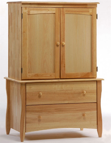 Timber Creek Armoire Natural | Night & Day Furniture | NE-CLOVE-AM-N