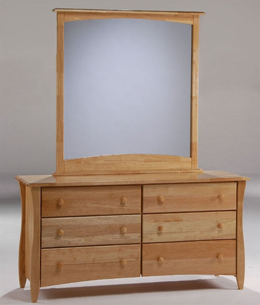 Timber Creek Double Dresser Natural | Night & Day Furniture | NE-CLOVE-DD-N