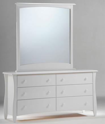 Timber Creek Double Dresser White | Night & Day Furniture | NE-CLOVE-DD-WH