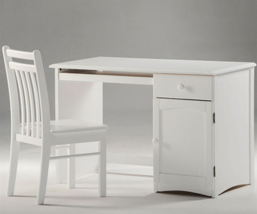 Timber Creek Desk White | Night & Day Furniture | NE-CLOVE-DK-WH