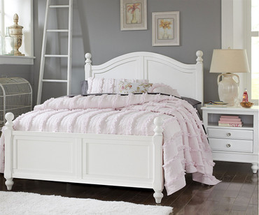 Lakehouse Payton Full Bed White | NE Kids | NE1015