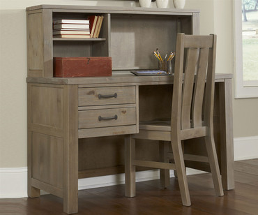 Everglades Student Desk Driftwood | NE Kids Furniture | NE10540