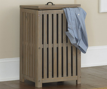 Everglades Clothes Hamper Driftwood | NE Kids Furniture | NE10580