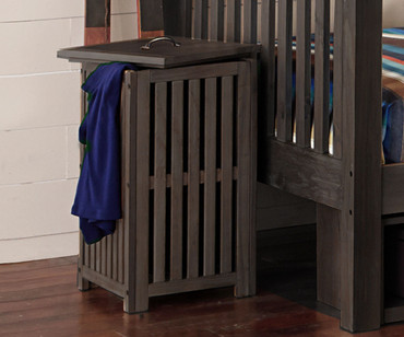Everglades Clothes Hamper Espresso | NE Kids Furniture | NE11580