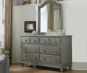Lakehouse 8 Drawer Dresser Stone | NE Kids Furniture | NE2500