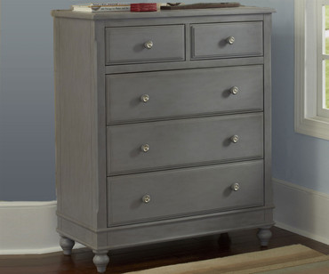 Lakehouse 5 Drawer Chest Stone | NE Kids Furniture | NE2520