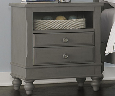 Lakehouse Nightstand Stone | NE Kids Furniture | NE2530
