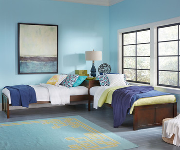 Pulse L-Shape Bed Cherry | NE Kids Furniture | NE31051N