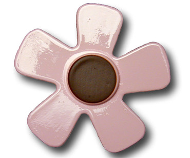 Pastel Pink Daisy Drawer Pull 1 | One World | OW-DP588