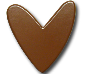 Chocolate Heart Drawer Pull | One World | OW-DP594