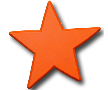 Orange Star Drawer Pull   One World   OW-DP606