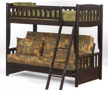 Twin Over Futon Bunk Beds Shop Affordable Bunk Beds