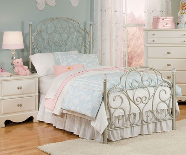 Spring Rose Metal Bed Twin Size | Standard Furniture | ST-5028380