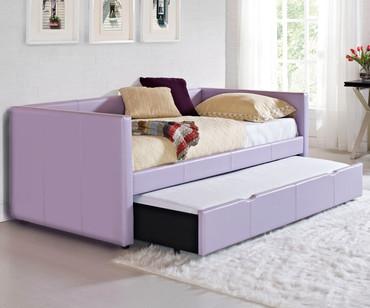 Lindsey Daybed with Trundle Lavender | Standard Furniture | ST-6645966460