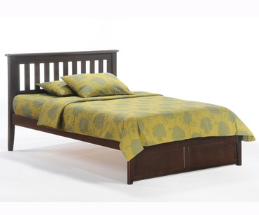 Timber Creek Rosemary Platform Bed Chocolate | New Energy Furniture | TCPB-CTE
