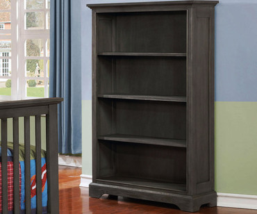 Allen House Bookcase Weathered Dark Gray
