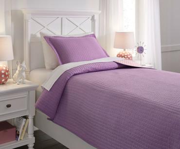 Maddis Bedding Set Lavender Full Size