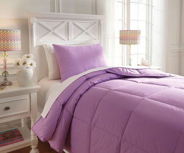 Delair Bedding Set Lavender