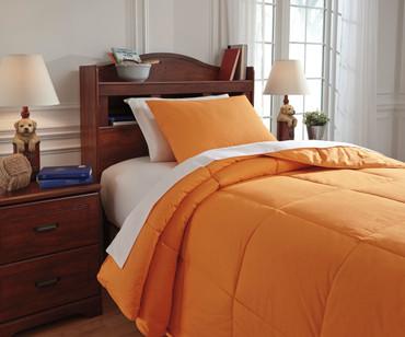 Delair Bedding Set Orange