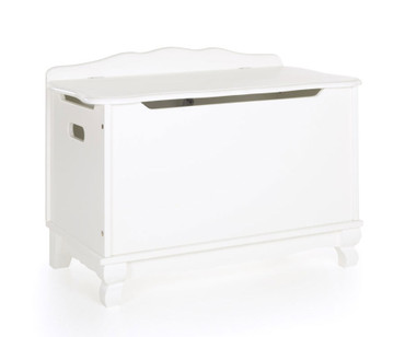 Kids Classic Toy Box White