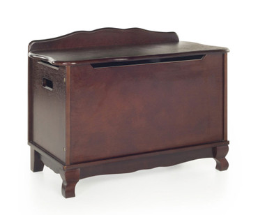 Kids Classic Toy Box Espresso