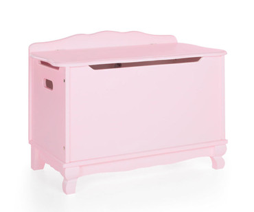 Kids Classic Toy Box Pink