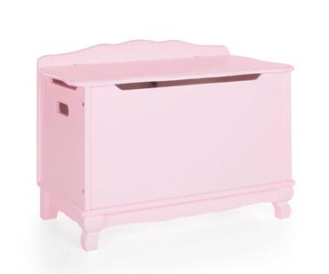 Kids Classic Toy Box Pink