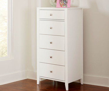 Urbana Tall Chest White