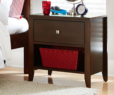 Urbana Nightstand Chocolate