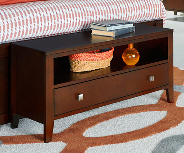 Urbana Dressing Bench Cherry