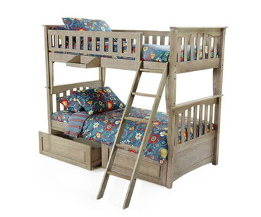 Grafton Bunk Bed Driftwood