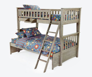 Grafton Twin over Full Bunk Bed Driftwood