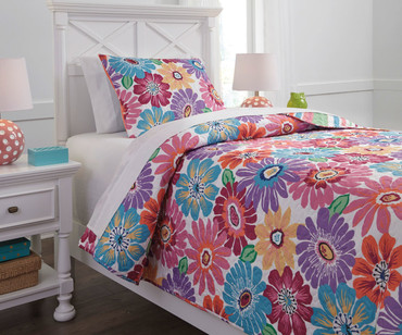 Floral Bedding Set