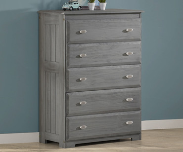 Westport Gray 5 Drawer Chest