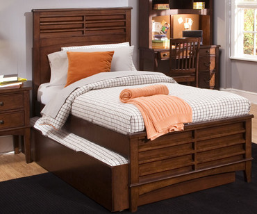 Chelsea Square Panel Bed Full Size