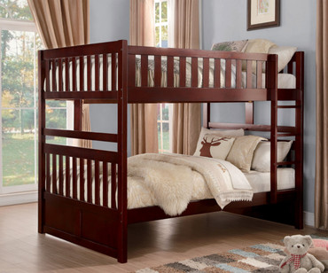 Stanford Full over Full Bunk Bed Cherry