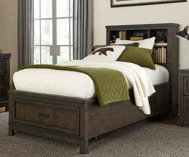 Thornwood Hills Bookcase Bed Twin Size