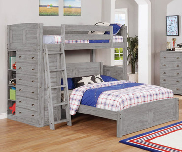 Northview Twin over Full Loft Bed