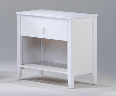 Zest Nightstand White