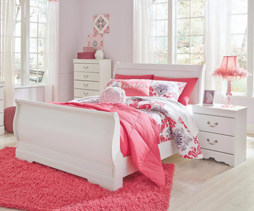 Anarasia Sleigh Bed Full Size