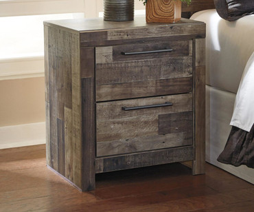 Derekson 2 Drawer Nightstand