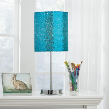 Maddy Metal Table Lamp Teal