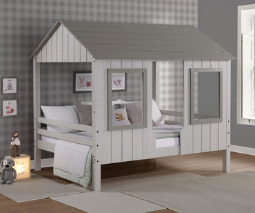 Beachem Low Loft Bed Full Size
