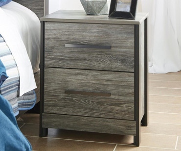 Cazenfeld 2 Drawer Nightstand