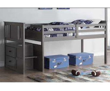 Harrington Stairway Low Loft Bed