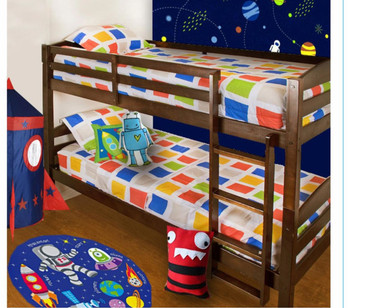 Outer Space Hugger Comforter Complete Collection Bedding Set